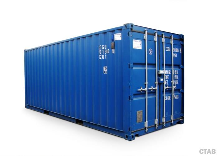 hyra eller köpa container 20 fot
