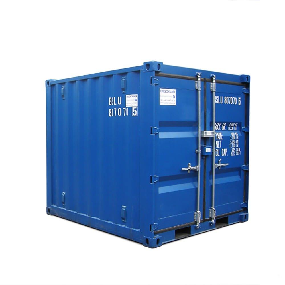 Vill du köpa eller hyra Container 8 fot?