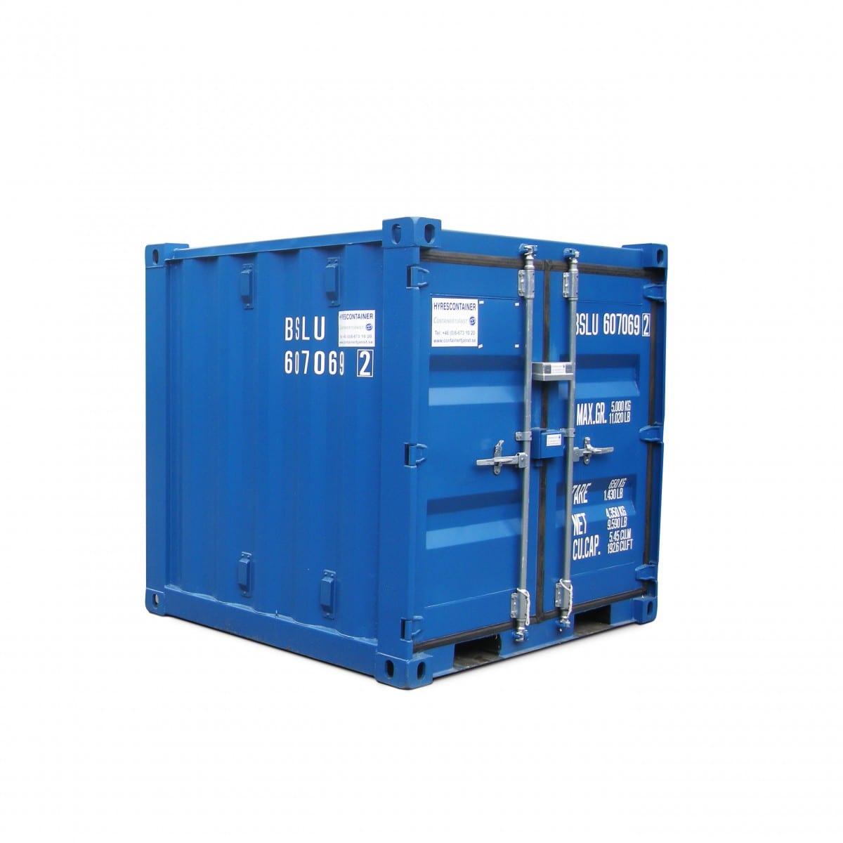 Hyra eller k pa container 6 fot containertj nst for Container en