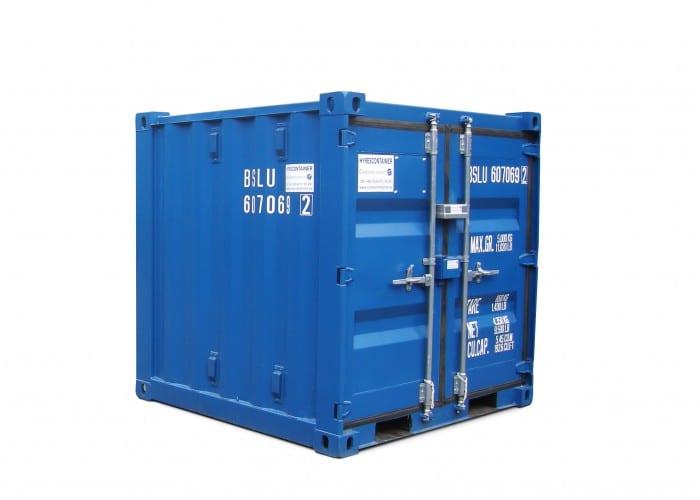 hyra eller köpa 6 fot container?