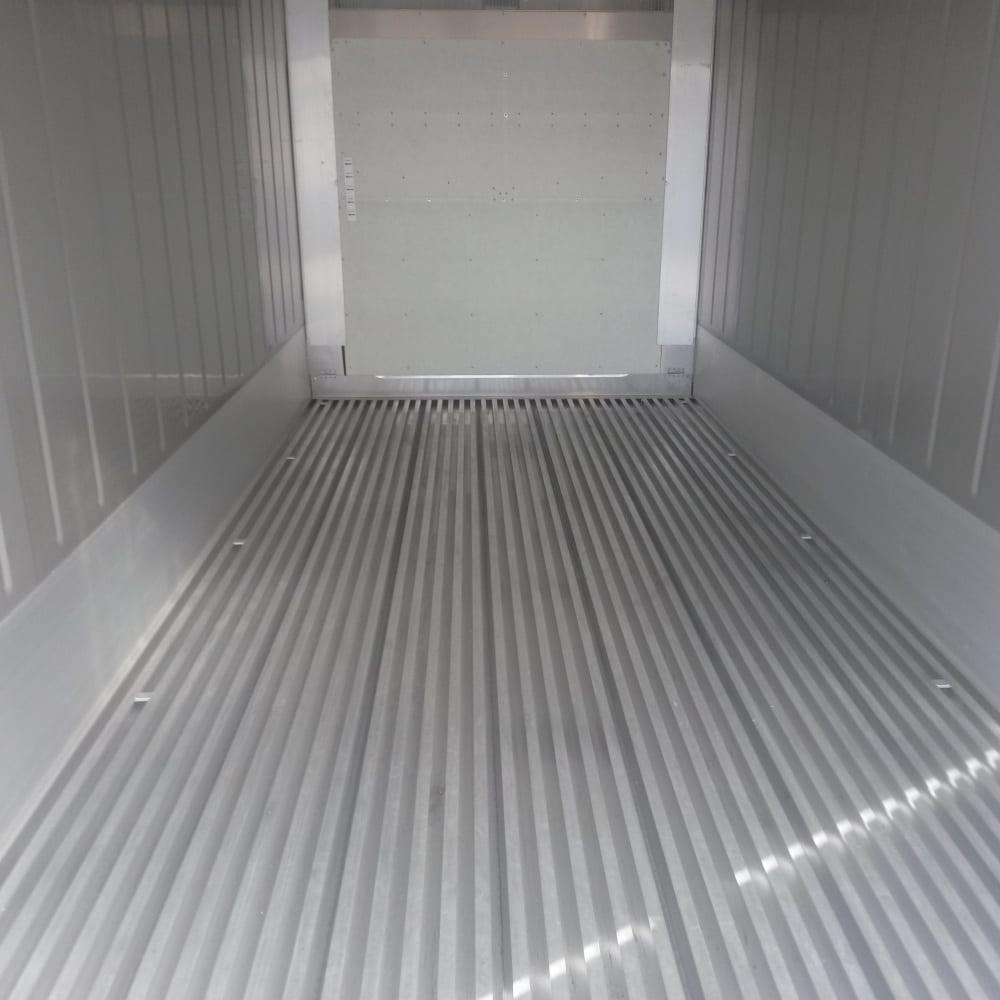 Kylcontainer 20 fot interiör