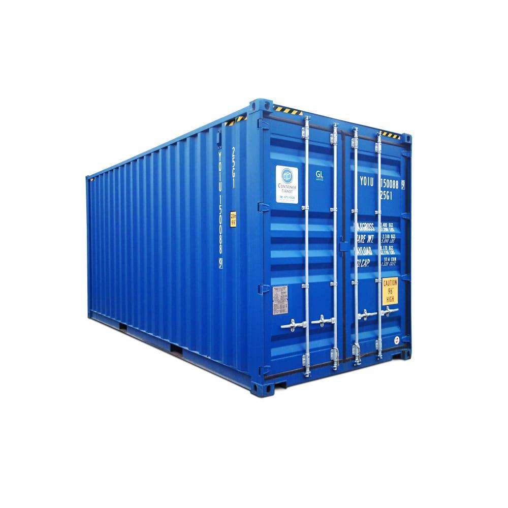 hyra eller köpa container 20 fot high cube
