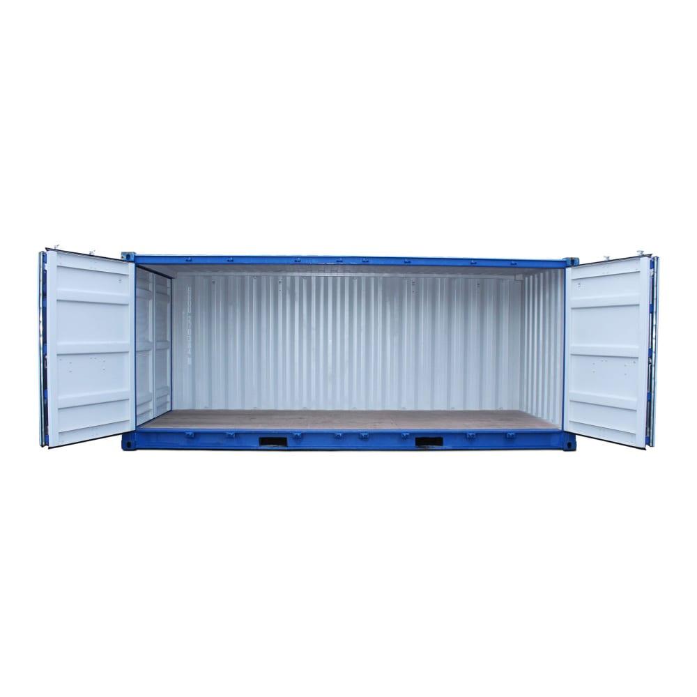 hyra eller köpa 20 fot open side container
