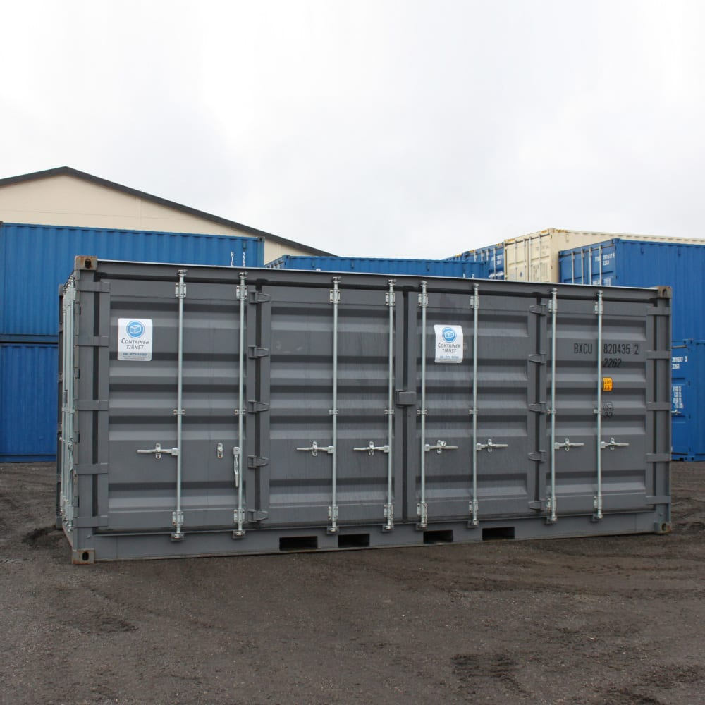 container 20 fot open side