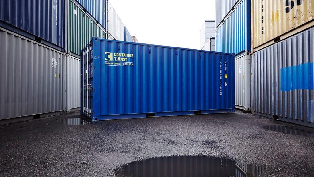 Att hyra container