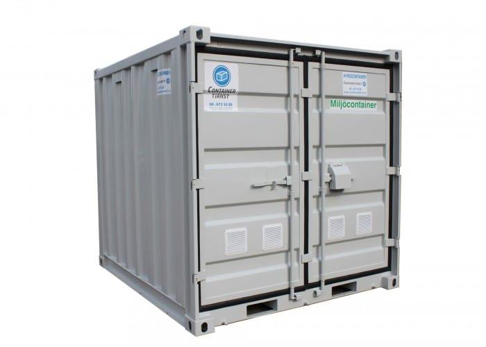 hyra eller köpa miljöcontainer 10 fot