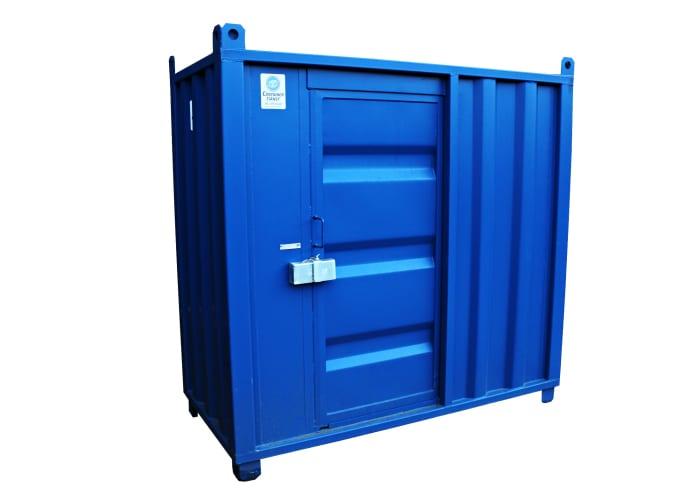 hyra eller köpa container 4 fot
