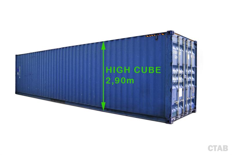 Hyra eller köpa 40 fot high cube container