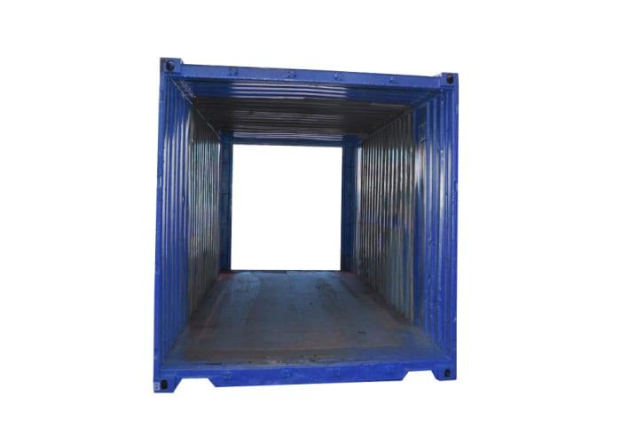 hyra eller köpa gångtunnel 20 fot container